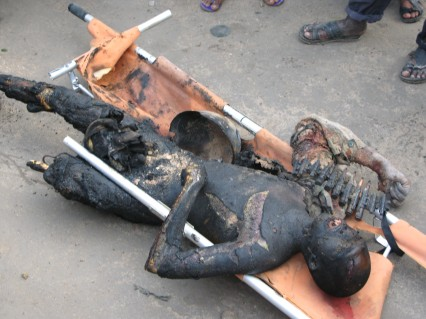 Peacekeeper's Bodies dragged in Mogadishu « Mogadishu Man